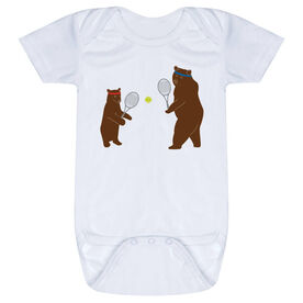 Tennis Baby One-Piece - Bears