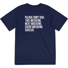 Soccer Short Sleeve Performance Tee - All Weekend Soccer