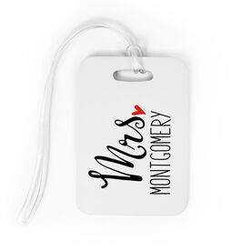 Personalized Bag/Luggage Tag- Mrs.