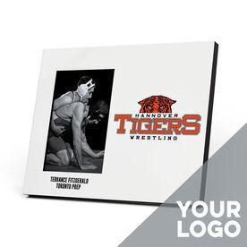 Wrestling Photo Frame - Custom Logo