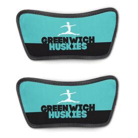 Gymnastics Repwell™ Sandal Straps - Team Name Colorblock