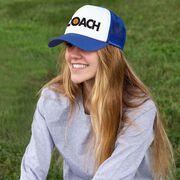 Basketball Trucker Hat - Coach