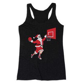 Basketball Women's Everyday Tank Top - Slam Dunk Santa