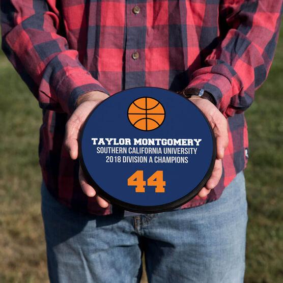 Basketball Circle Plaque - Team Ball