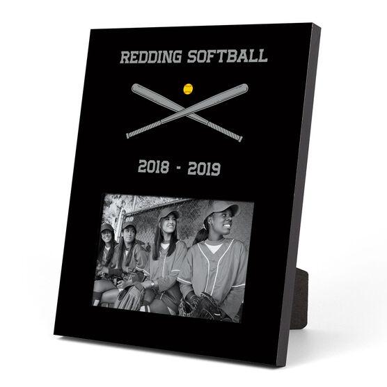 Softball Photo Frame - Team