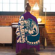Hockey Premium Blanket - Custom Team Logo