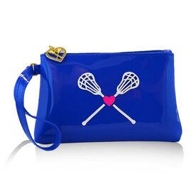 Lacrosse My Heart Lacrosse Wristlet Bag - Rylee
