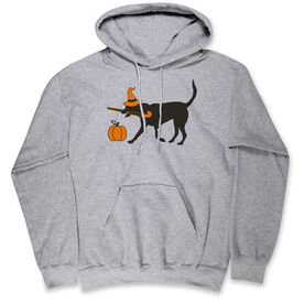 Field Hockey Hooded Sweatshirt - Witch Dog