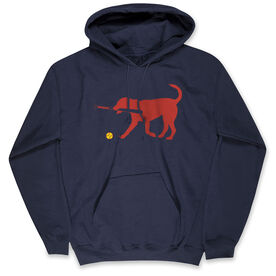 Softball Standard Sweatshirt - Softballs for Dog With Bat