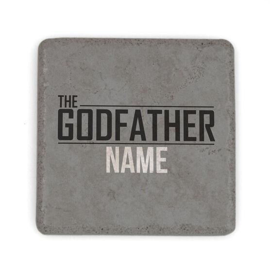 Personalized Stone Coaster - Godfather