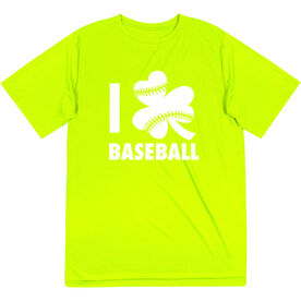 Baseball Short Sleeve Performance Tee - I Shamrock Baseball