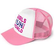 Running Trucker Hat - Girls Run The World