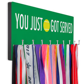 Tennis Hooked on Medals Hanger - You Just Got Served