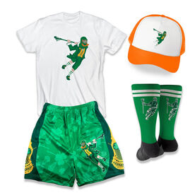 St. Patrick's Day Lacrosse Outfit