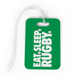 Rugby Bag/Luggage Tag - Eat Sleep Rugby
