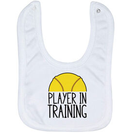 Softball Baby Bib - Player In Training