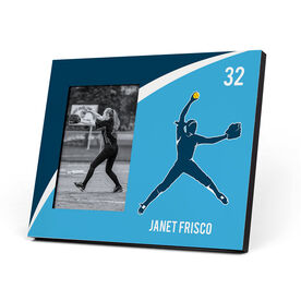 Softball Photo Frame - Personalized Softball Pitcher