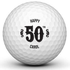 Personalized Birthday Ball Golf Ball
