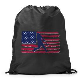 Baseball Sport Pack Cinch Sack - Baseball Land That We Love