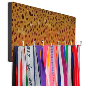 Fly Fishing Hook Board Brown Trout Scales