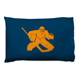 Hockey Pillowcase - Goalie Player