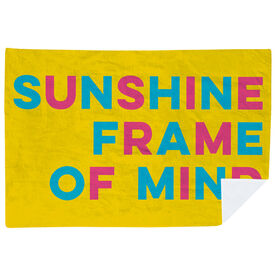 Premium Blanket - Sunshine Frame Of Mind