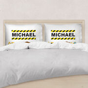 Personalized Pillowcase - Construction Site
