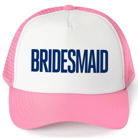 Personalized Trucker Hat - Bridesmaid