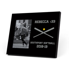 Softball Photo Frame - Custom Softball Bats