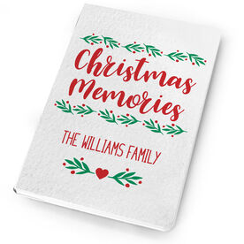 Personalized Notebook - Christmas Memories