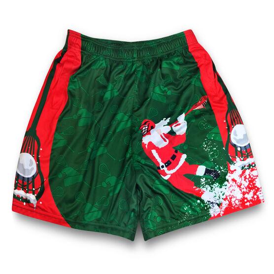 Santa Laxer Christmas Lacrosse Shorts