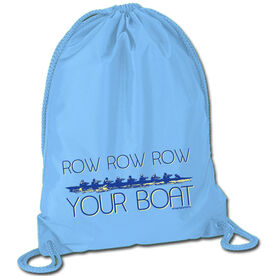Row Row Row Your Boat Sport Pack Cinch Sack
