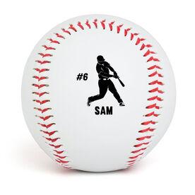 Personalized Baseball Player Baseball
