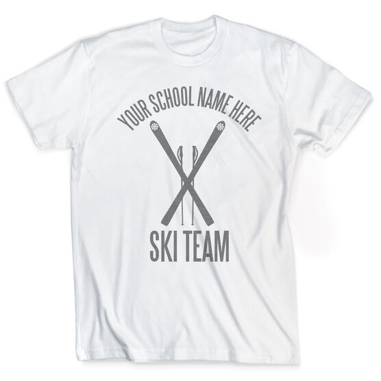 Skiing Vintage T-Shirt - Personalized Ski Team