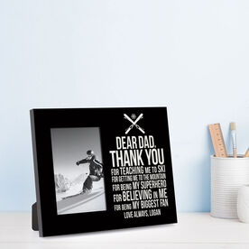 Skiing Photo Frame - Dear Dad