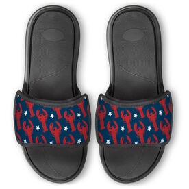 Personalized Repwell® Slide Sandals - Lobsters