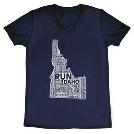 Women's Running Short Sleeve Tech Tee Idaho State Runner