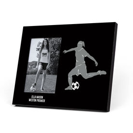 Soccer Photo Frame - Female Player