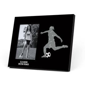 Soccer Photo Frame - Female Player
