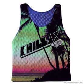 Guys Lacrosse Pinnie - Chillax Beach