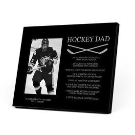 Hockey Photo Frame - Hockey Dad Poem