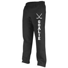Hockey Goalie Fleece Sweatpants
