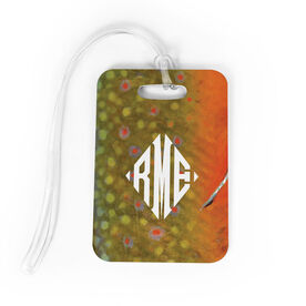 Fly Fishing Bag/Luggage Tag - Brook Trout