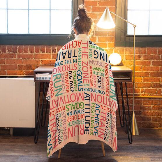 Running Premium Blanket - Motivation