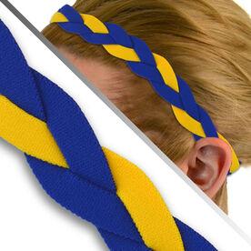 GripBand Headband - Royal/Yellow