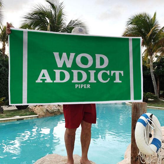 Cross Training Premium Beach Towel - WOD Addict