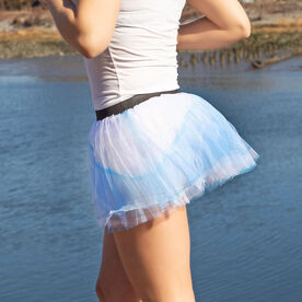 Runner's Printed Tutu Glass Slipper