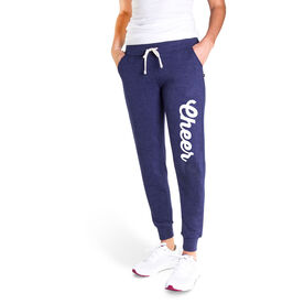 Cheerleading Women's Joggers - Cheer Script