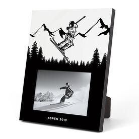 Skiing Photo Frame - Skier