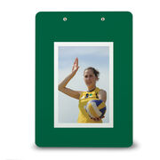 Volleyball Custom Clipboard Volleyball Your Photo Solid Background